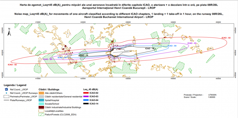 Comparație între aeronave de diferite capitole  -  implicații privind Regulamentul UE nr 598/2014